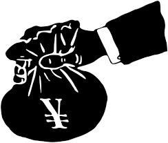 PAcote de dinheiro